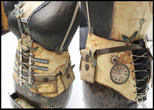 Steampunkdressform