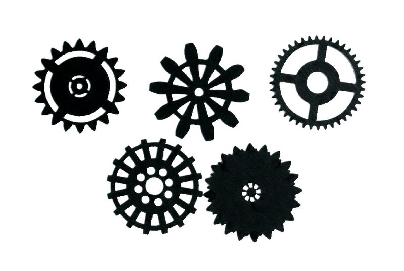 4366-S Shifting Gears Small Silhouette