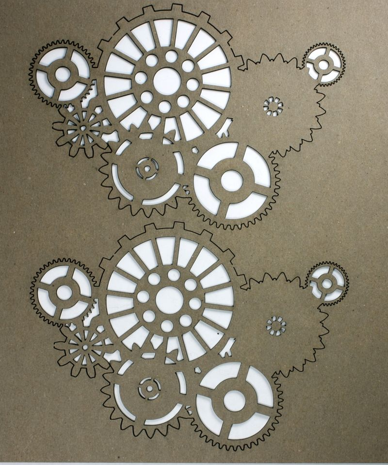 4353 Shifting Gears Chipboard