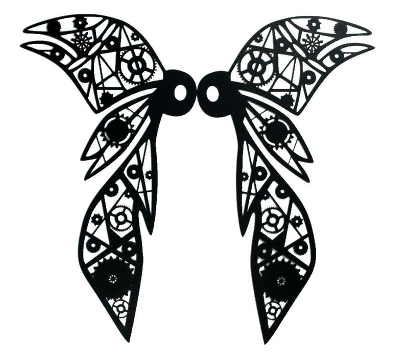 4368-S Wicked Wings Silhouette