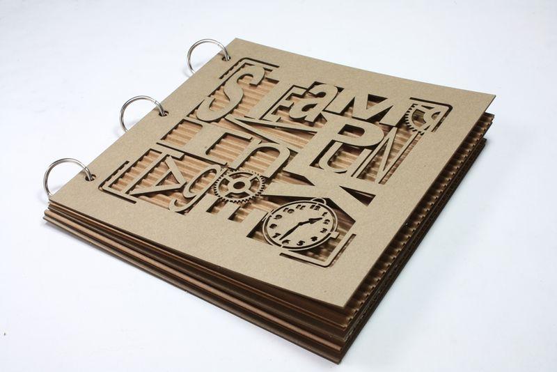 CA-1004 Typography - Vintage Steampunk