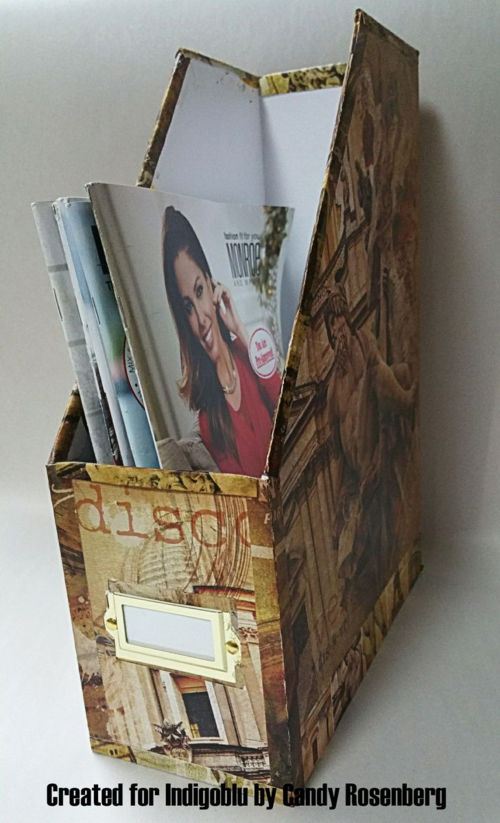 Indigoblu Magazine Holder