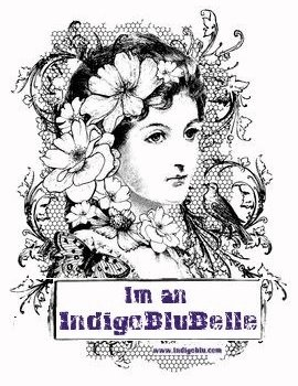 IndigoBlu Belle Badge