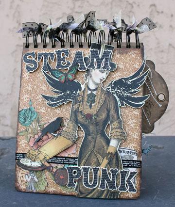 Steampunk Mini Album Cover