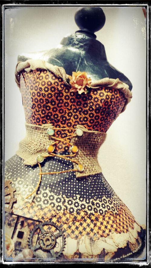 Dress Form- Graphic45 Summer CHA 2013