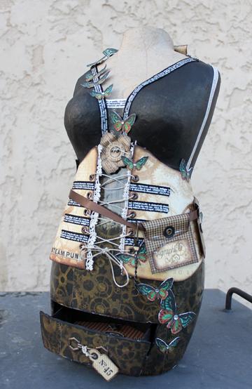 Mini Me Mannequin Front View