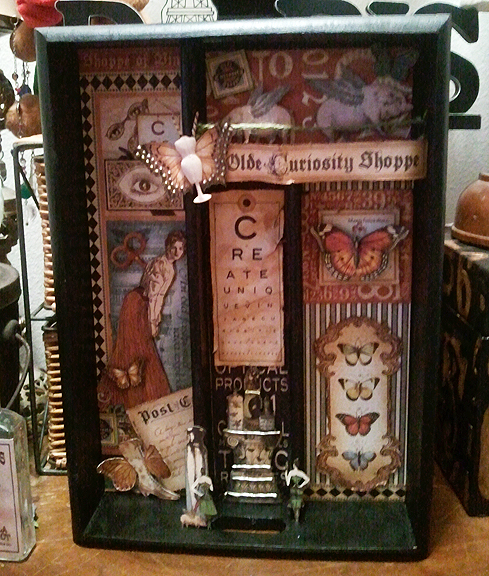 Graphic45 Olde Curiosity Shoppe Tray